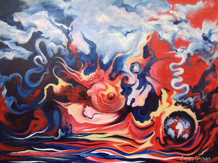 The Infuriation Of Mother Earth_Cathy Gi