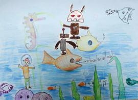 《海底救援机器人》Submarine rescue robot