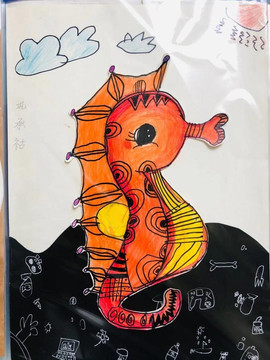 可爱的小海马(Cute little hippocampal)