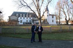 Avec Georges ZIEGLER, président du département de la Loire.