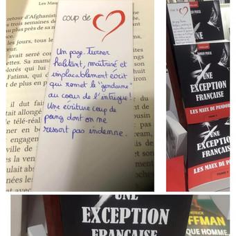 Une exception française, coup de coeur d'un libraire.