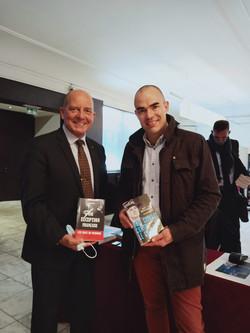 Avec le GCA (2S) David GALTIER auteur de Mon combat contre le crime