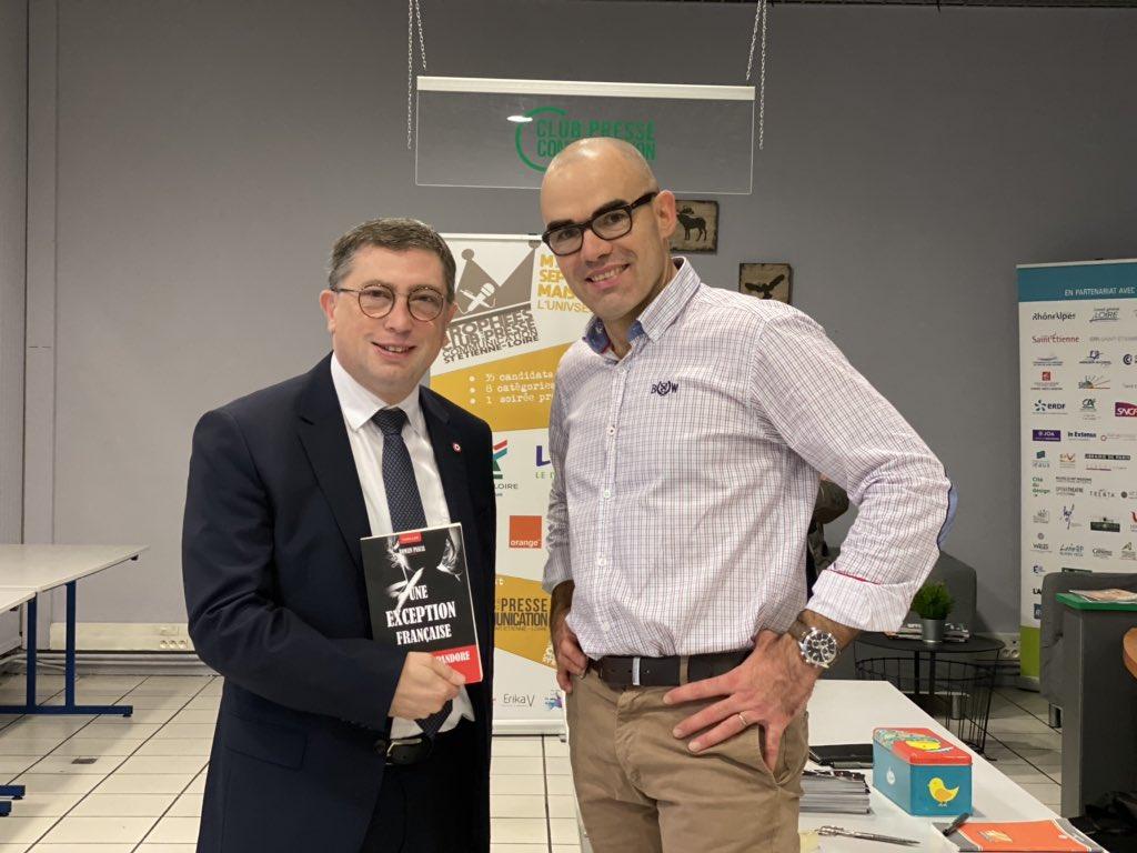 Avec le député Jean-Michel MIS.