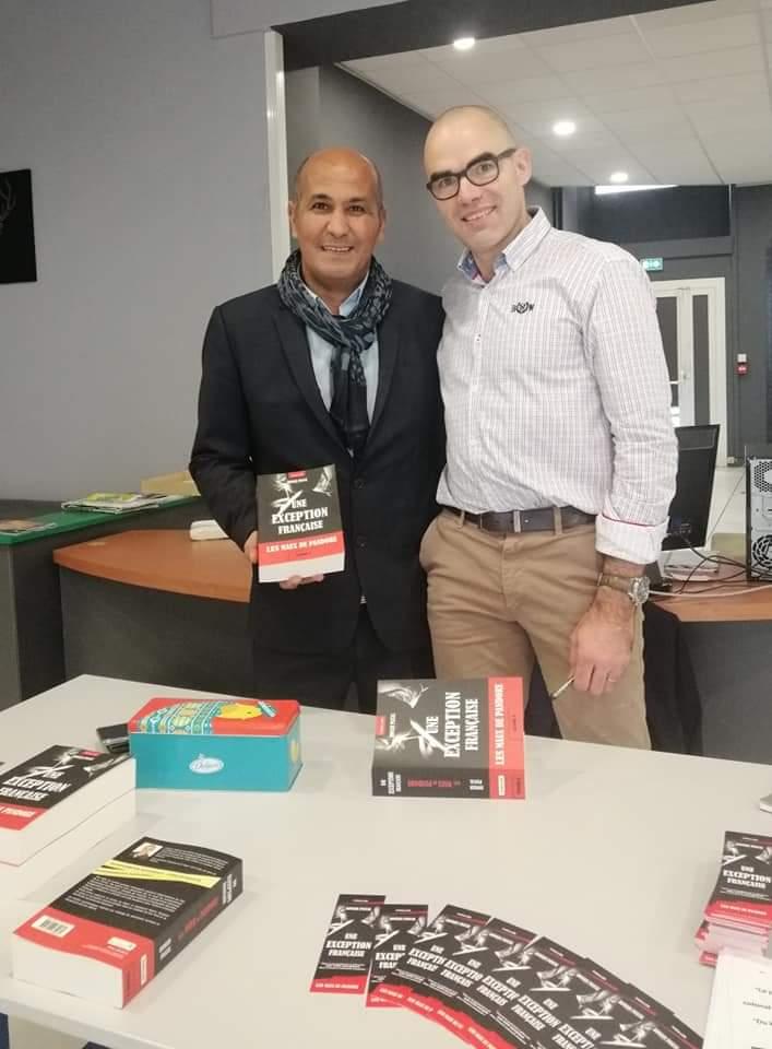 Avec Badr BOUKHRISSI, président de l'académie gourmande.