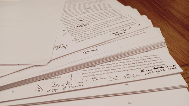Manuscrit retravaillé.