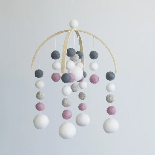 Pink and Navy Mobile