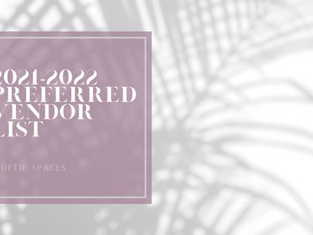 2021-2022 Preferred Vendor's List