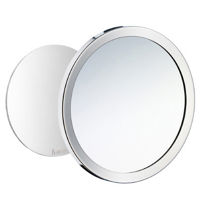 Bathworks Essential :: Wall Mounted Magnetic Magnification Mirror