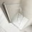 Thumbnail: Series 8 Frameless Hinged Bifold Shower Door - 800mm