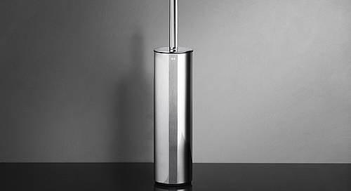 Reframe Freestanding Toilet Brush Set || Polished Steel