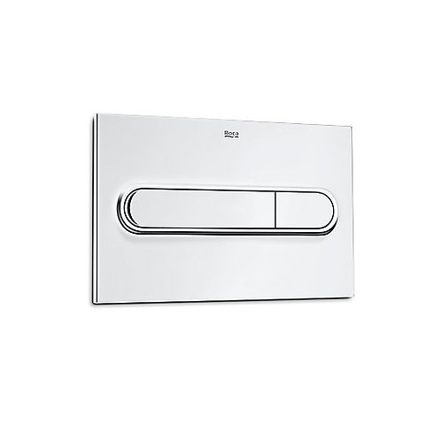 Roca PL1 Dual Flush Plate - Gloss Chrome