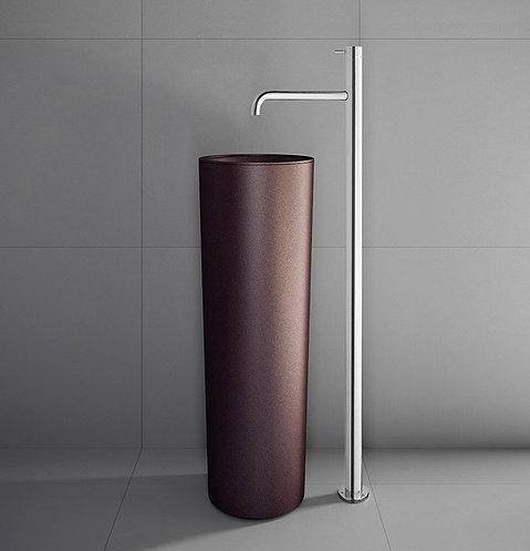 Flow Floorstanding Single Lever Basin Mixer - Chrome