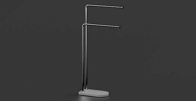 Nomad Vanguard Freestanding Towel Bar Stand Chrome