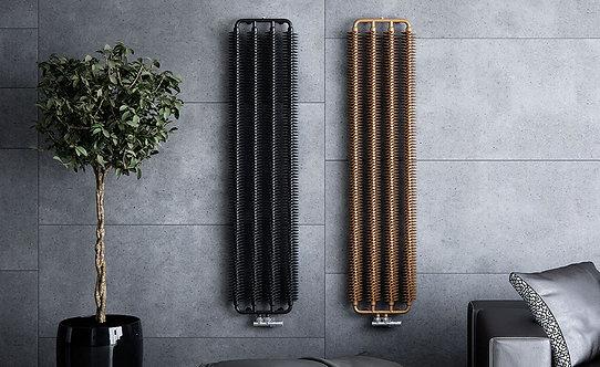 Ribbon V :: Copper Designer Radiator
