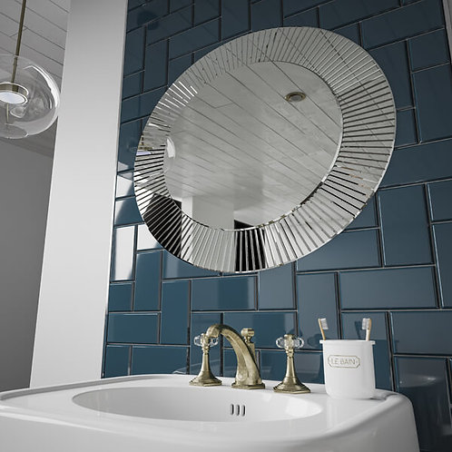 HIB Arte Designer Round Mirror
