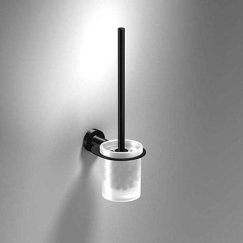Tecno Project Toilet Brush & Holder - Matt Black