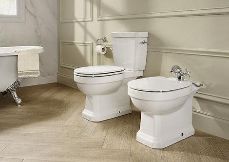 Roca Carmen Rimless Close Coupled WC Pan, Cistern & Seat