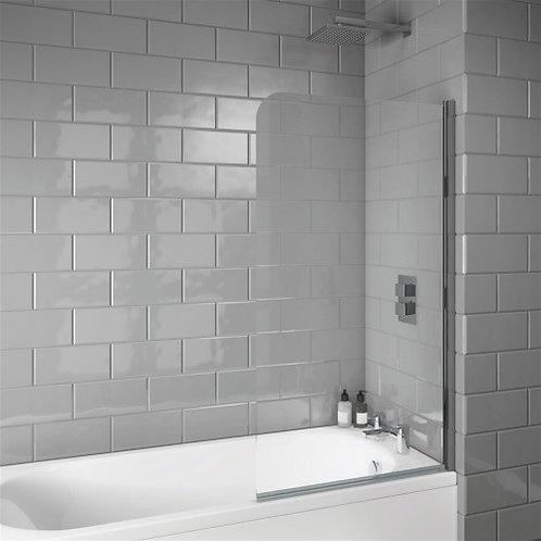 Bathworks Essential Single Panel Bath Screen :: Curved