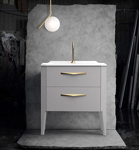 Sonia Epoque 800mm Basin Furniture Unit - Storm grey
