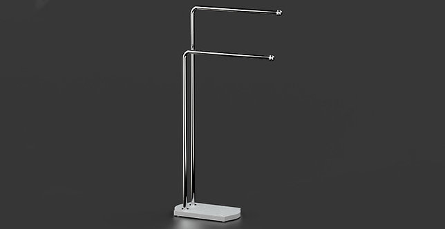 Nomad Classic Freestanding Towel Bar Stand Chrome