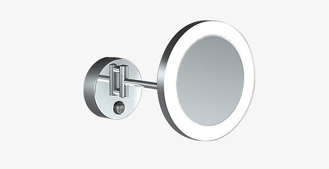 Sonia Contract Magnifying Mirror 1 Arm x3 Led