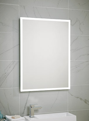 Bathworks Essentials LED Mirror :: 700 x 500mm