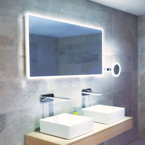 HIB Globe 1200mm LED Illuminated Mirror
