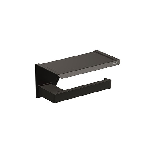 S-Cube Toilet Roll Holder With Shelf