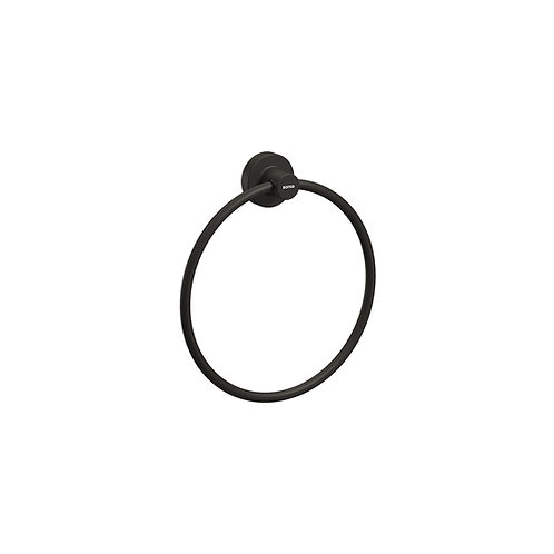 Tecno Project Towel Ring 210mm || Matt Black
