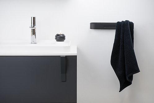 S5 Towel Rail 450mm :: Matt Black