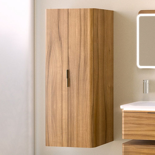 VitrA Nest 2 Door Tall Bathroom Cupboard