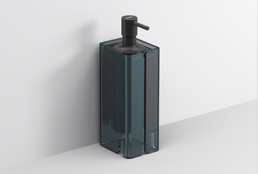 Luce Soap Dispenser Countertop  :: Sports Black