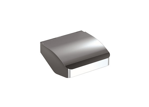 S-Cube Toilet Roll Holder With Cover