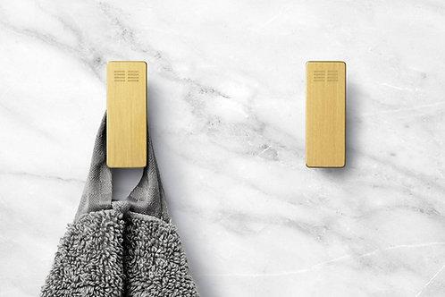 Reframe Robe Hooks, Set Of 2 || Brass