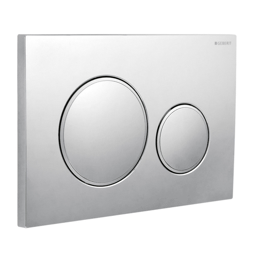 Geberit Sigma 20 Dual Flush Plate - Matt Chrome