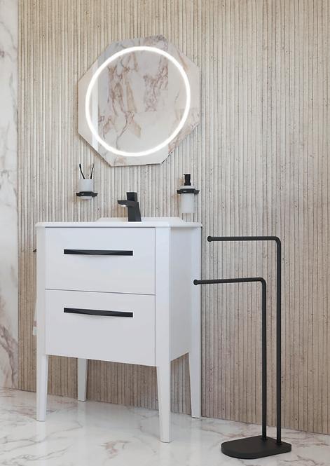 Sonia Epoque 600mm Basin Furniture Unit :: Blanco Soft
