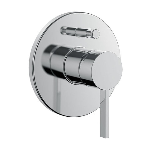 Laufen Kartell concealed single lever bath mixer, with diverter