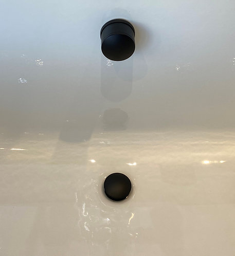 Flow Bath Overflow Fill & Waste || Matt Black