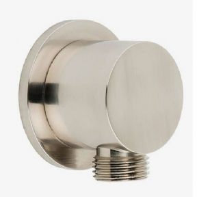 Vado Elements Wall Outlet Brushed Nickel