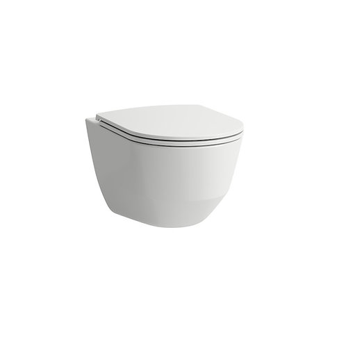 Laufen Pro RIMLESS Wall Hung Toilet Pan & Standard Seat