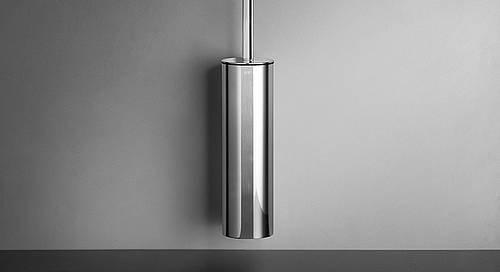 Reframe Wall Mounted Toilet Brush Set || Polished Steel