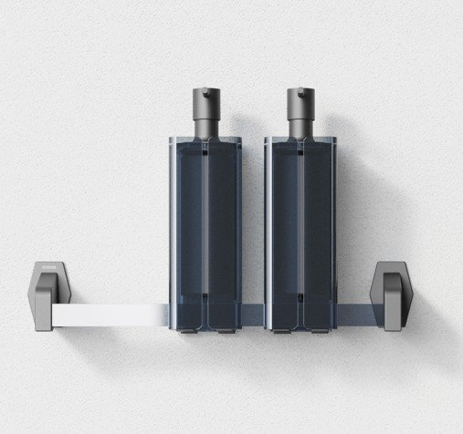Luce Towel Bar 300mm- Sports Black