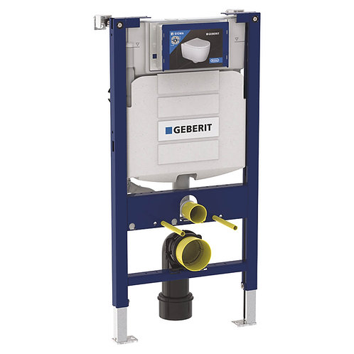 Geberit Duofix .82m WC Frame With Omega Dual Flush Cistern