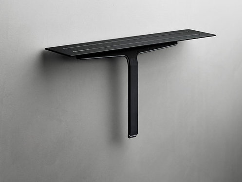 Reframe Shower Shelf & Shower Wiper || Black