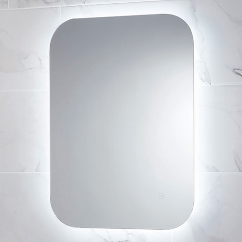 Bathworks Essential LED Mirror with Demister Pad - 500 x 700mm