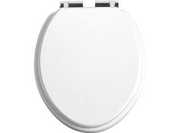 Heritage Soft Close Toilet Seat - White Gloss