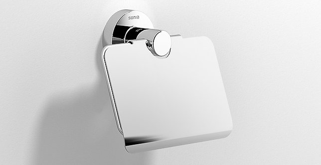 Astral Toilet Roll Holder With Cover