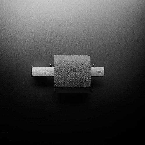 Reframe Toilet Roll Holder || Brushed Steel