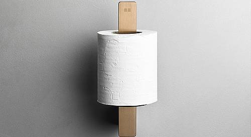 Reframe Spare Toilet Roll Holder || Copper