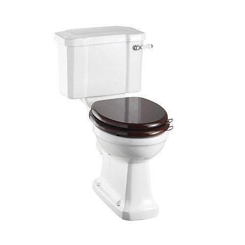 Burlington Slimline Toilet & Soft Close Toilet Seat -Cistern Lever